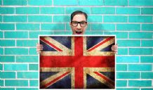 British Flag - Wall Art Print Poster   - Unique Art Geekery